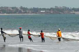 Lumley Beach in Freetown, Sierra Leone is a popular attraction. The body of 17 year old Hannah Bockarie, who was murdered, was found there in August 2015.