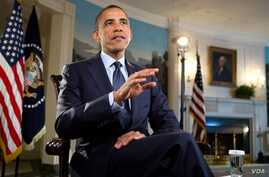 US President Barack Obama takes the weekly address, August 10, 2012.