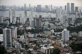 Aerial view of Cartagena, Colombia ahead of Pope Francis' upcoming visit, Aug. 25, 2017.