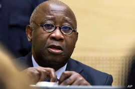 Former Ivory Coast President Laurent Gbagbo attends a confirmation of charges hearing at the International Criminal Court (ICC) in The Hague, Netherlands, February 19, 2013.