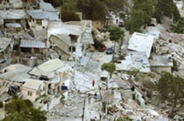 Port-au-Prince, Haiti, 15 Jan 2010, after a magnitude 7 earthquake hit the country on 12 Jan 2010
