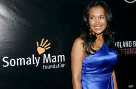 FILE - Somaly Mam arrives to the Somaly Mam Foundation's second annual benefit in New York.