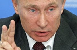 Putin Promises Stability if Elected Russia's President
