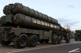 Russian S-400 air defence missile