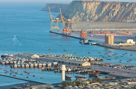 Gwadar is located on the shores of the Arabian Sea in the western province of Balochistan. It is about 533 km from Karachi and 120 km from the Iranian border. Gwadar Port is located at the mouth of the Persian Gulf, just outside the Straits of Hormuz