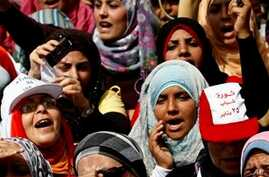 Egyptian Women Search for Place in New Government