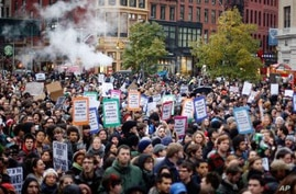Occupy Wall Street Protesters Hold 'Day of Action'