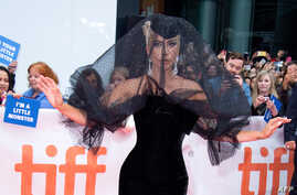 """Singer/songwriter Lady Gaga attends the premiere of """"A Star is Born"""" during the Toronto International Film Festival, Sept. 9, 2018, in Toronto, Ontario, Canada."""