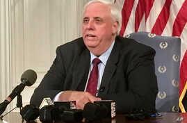 West Virginia Gov. Jim Justice addresses a news conference, Feb. 27, 2018, at the state Capitol in Charleston.
