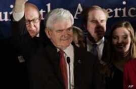 Gingrich Wins South Carolina Republican Primary