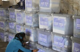 Afghan Election Results Due Out Wednesday