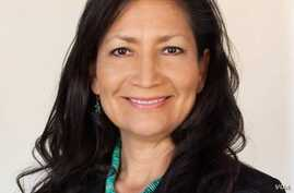 "Debra ""Deb"" Haaland, Democrat, member of the San Felipe Pueblo in N.M., running a seat in Congress in the 2018 midterm election."