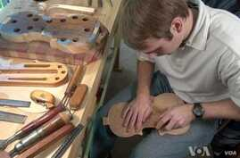 Young Violin Maker Keeps Family Tradition Alive