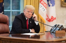 President Donald J. Trump in the Oval Office