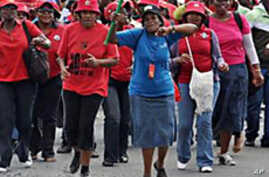 South Africa Strike Set to Expand