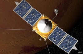 The Mars Atmosphere and Volatile EvolutioN (MAVEN) mission is part of NASA's Mars Scout program, funded by NASA Headquarters. Set to launch in 2013, the mission will explore the Red Planet's upper atmosphere, ionosphere and interactions with the sun
