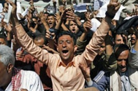 Protests Continue for 5th Day Against Yemeni Government