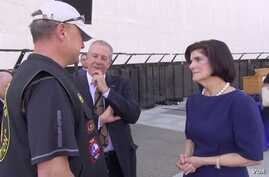Luci Baines Johnson believes bringing opponents of the war together with former soldiers and policymakers at the summit at the LBJ Presidential Library in April contributed to healing and understanding.