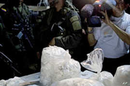 Colombia Cocaine Lab Destroyed in Raid
