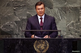 UN-ASSEMBLY/Yanukovych