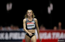 Russian whistleblower and runner Yulia Stepanova, who helped expose massive doping problems in Russia that led to the country's track and field team being banned from international competition, takes the track to compete as a neutral athlete in the 8