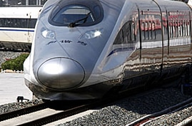 China Unveils Pricey High Speed Rail Route