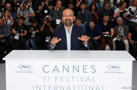 "Iranian director Asghar Farhadi is seen at the photocall for the film ""Everybody Knows,"" at the 71st Cannes Film Festival, in Cannes, France, May 9, 2018."