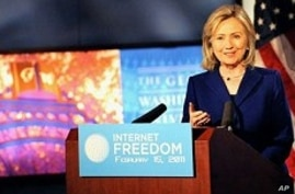 China Likely to Ignore Clinton's Internet Freedom Speech