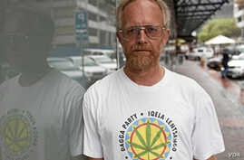 Jeremy Acton, the man behind the Dagga Party, which is fighting to legalize cannabis in South Africa (Courtesy Dagga Party)
