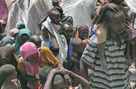 Tens of Thousands of Starving Somalis Flee to Mogadishu