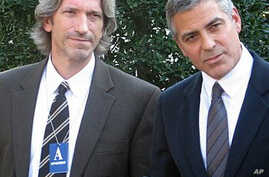 Actor George Clooney Briefs Obama on Sudan Trip