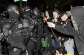 US: Portland Police Warn 'Occupy' Protesters to Disperse