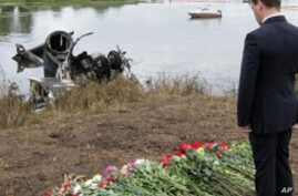Russia Mourns Crash Victims, Medvedev Demands Airline Reforms