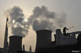 a power plant on the outskirts of Xiangfan, Hubei province