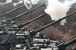 South Korea Stages Huge Show of Force Near DMZ