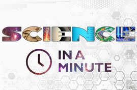Science in a Minute - logo - 16x9 aspect ratio