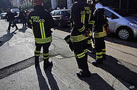2 Wounded in Rome Embassy Blasts