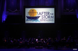 After the Storm: A Benefit Concert for the Philippines was held Sunday at the Kennedy Center.