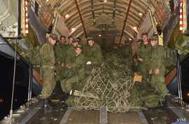 A contingent of Russian army arrived in Pakistan, Oct. 21, 2018, to take part in joint drills.