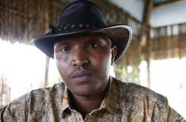 Indicted war criminal Bosco Ntaganda poses for a photograph during an interview with Reuters in Goma, Democratic Republic of Congo. (File Photo)