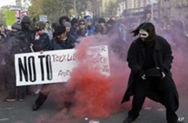 British Students Protest Tuition Hikes