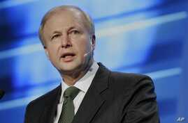 BP Group Chief Executive Bob Dudley speaks at the IHS CeraWEEK energy conference, Houston, March 6, 2013.