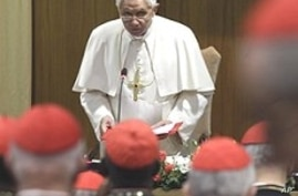 Pope, Cardinals Hold Talks on Sex Scandals, Other Issues