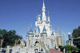 Cinderella's Castle at Walt Disney World's Magic Kingdom in Lake Buena Vista, Florida (File)