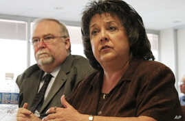 FILE - The New Mexico attorney general says charges against Secretary of State Dianna Duran included embezzlement, fraud and money laundering.