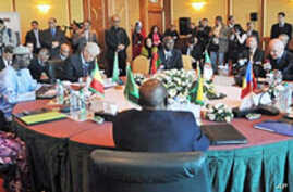 A general view of the Ministerial Conference of Sahara-Sahel States in Algiers, 16 Mar 2010