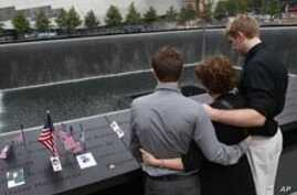Americans Hold Somber Observances of September 11 Attacks