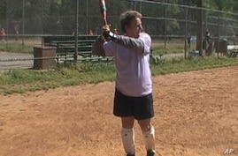 Older American Women Play Softball, Competitively