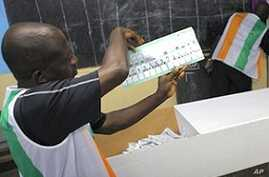 Voters in Ivory Coast's Western Region Cautiously Await Election Results