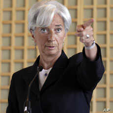 IMF Chief Urges Bold Action